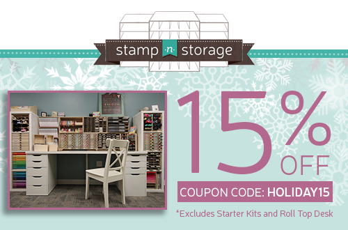 Stamp-n-Storage is offering 15% off now through December 19th! Click here to shop: http://www.stampnstorage.com/#a_aid=stampyourartout …#stampyourartout - Stampin' Up!® - Stamp Your Art Out! www.stampyourartout.com